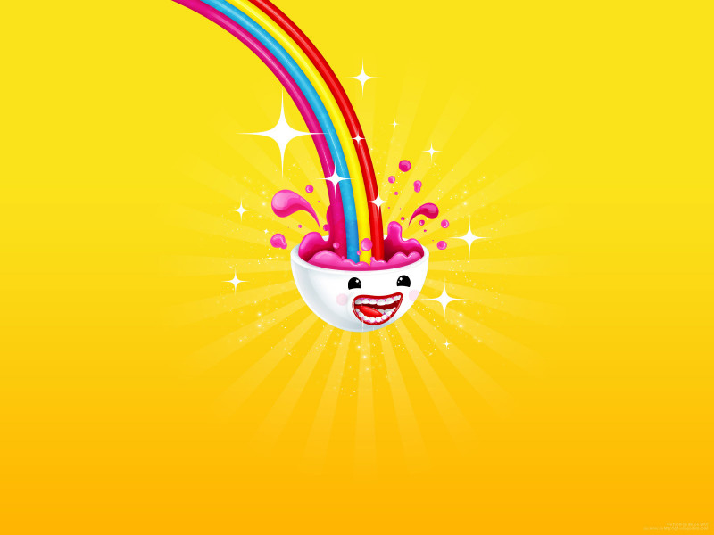 Juicy Rainbow Vector - Juicy Rainbow Vector