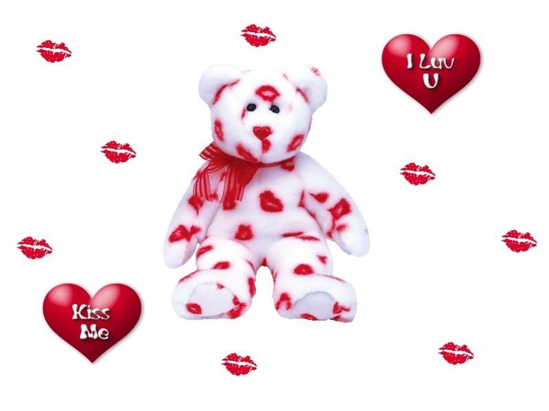 Kissed Teddy Bear - Kissed Teddy Bear