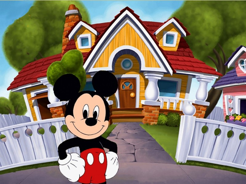 Mickey Mouse House - Mickey Mouse House