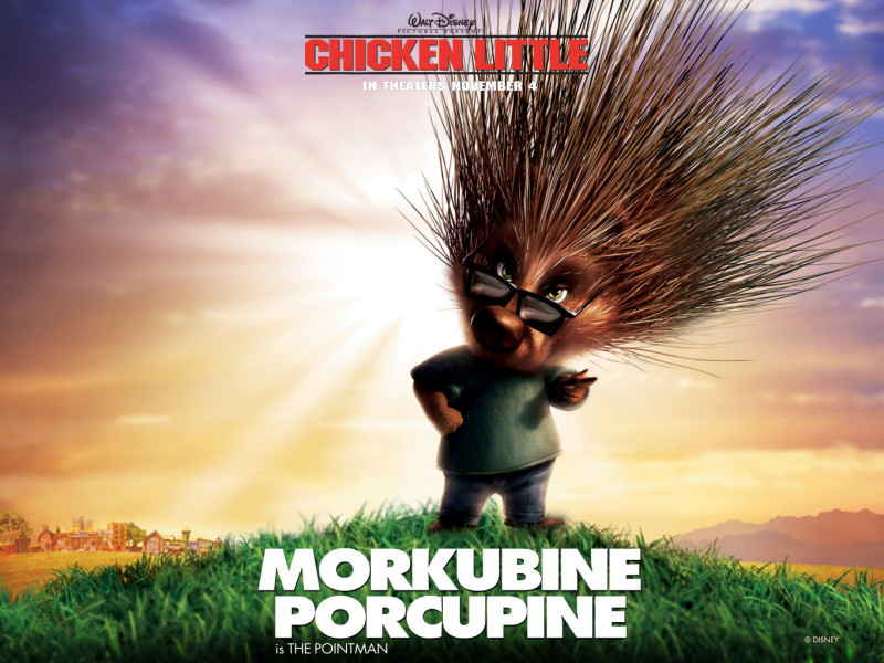 Morkubine Porcupine Little Chicken - Morkubine Porcupine Little Chicken