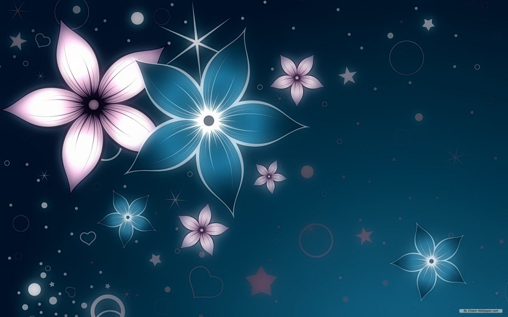 Sky Flower Abstract Background - Sky Flower Abstract Background