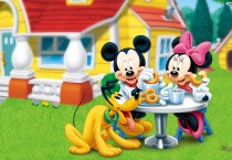 Tea Time Mickey Mouse - Tea Time Mickey Mouse