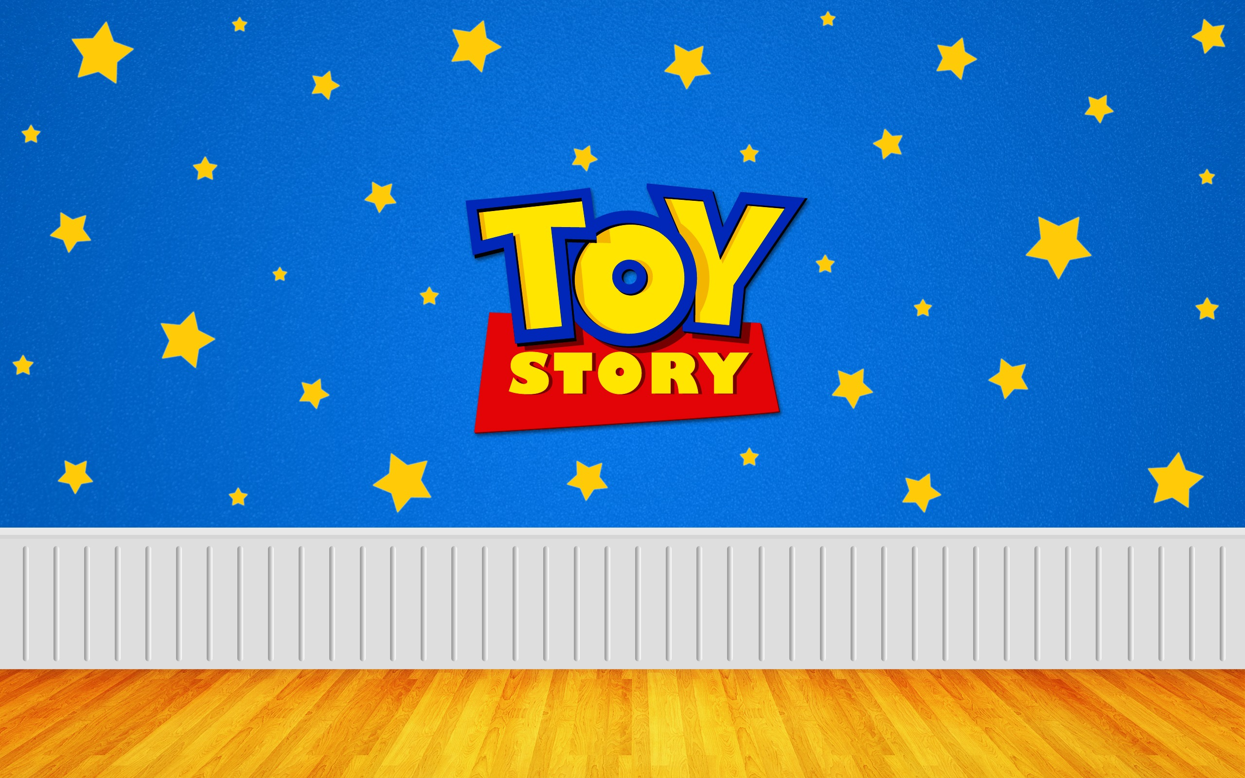 Toy Story Widescreen Digital Art