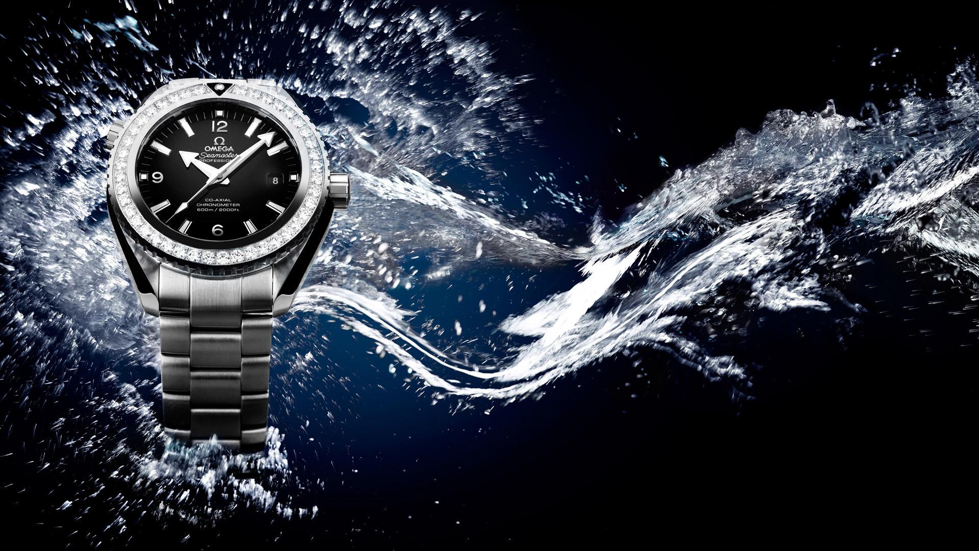 Omega Seamaster Diamond Watch Lifestyle