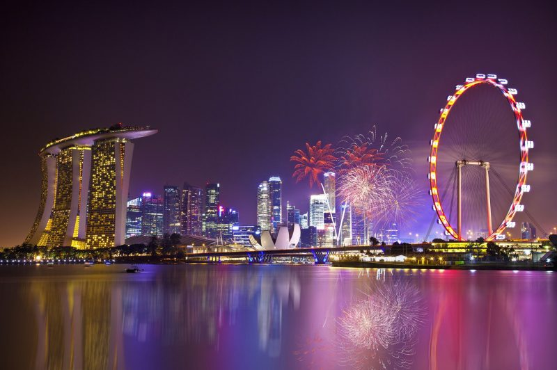 Fireworks and Ferris Wheel!