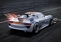 Electric Powered Porsche 918
