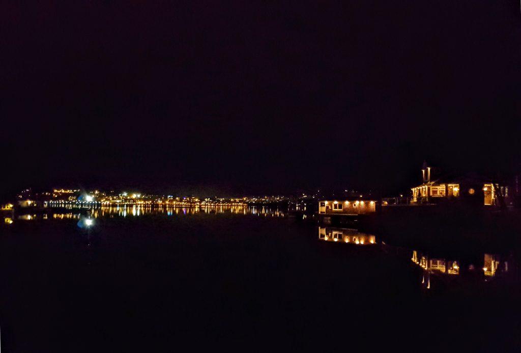 Bedford Lights on Calm Basin
